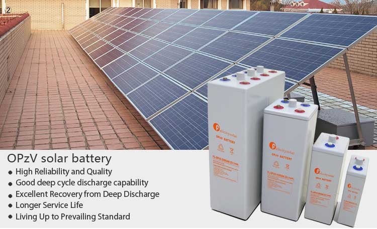 Storage Battery For Solar System