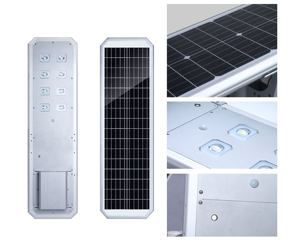 120w Hot Sell Factory Direct Price All In One Solar Street Light With 12m Street Light Pole