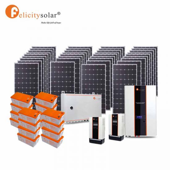 New Design Stand Alone 10kva Solar System With Battery Backup