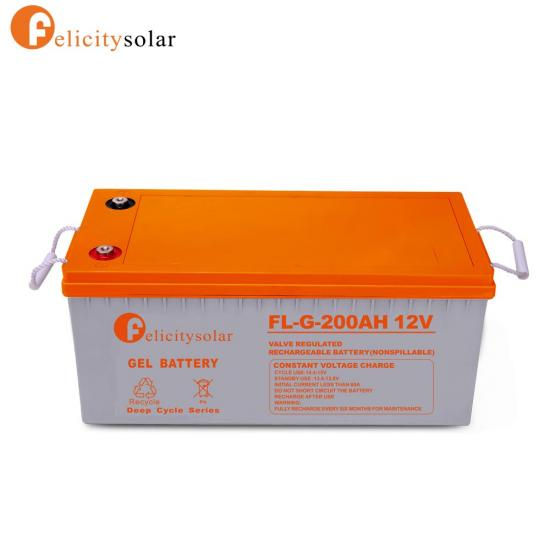 Agm & Gel Battery 12v 200ah Sealed Maintenance Free